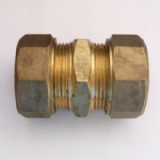 Brass Compression 20mm MDPE Alkathene Coupler - 18402000